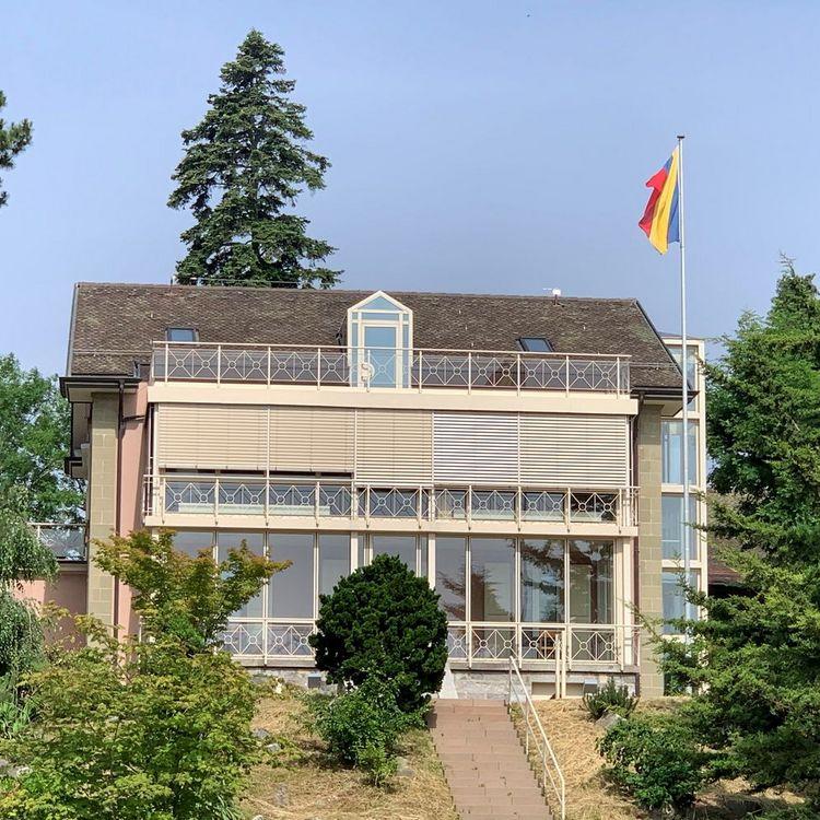 Villa Mon Repos, sièce de la Municipalité